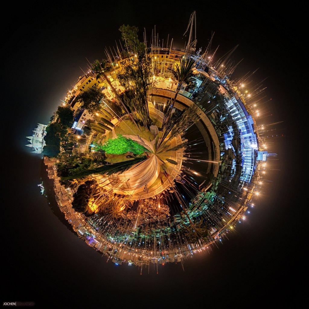 Little Planets - Palma de Mallorca Hafen