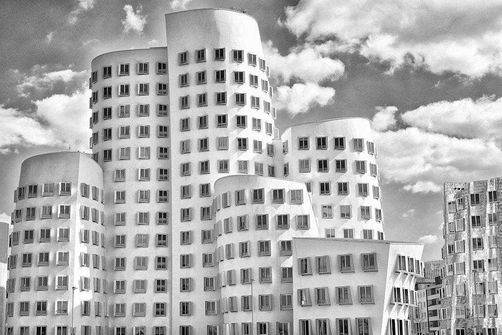 Paper Popup - Düsseldorf - Gehrybauten II