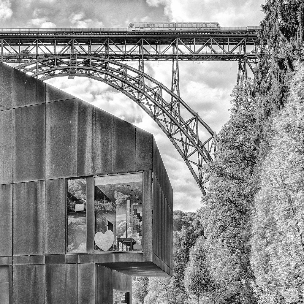 Paper Popup - Solingen - Müngstener Brücke